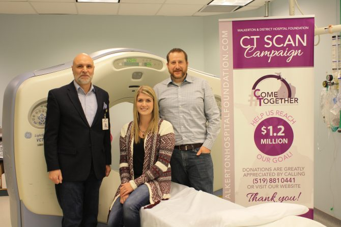 New CT Scanner Coming to SBGHC Walkerton June 2018