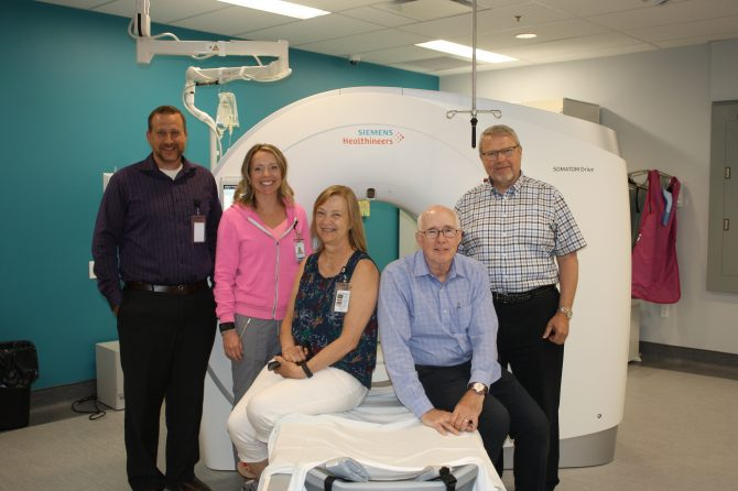 New CT Scanner Operational at SBGHC Walkerton